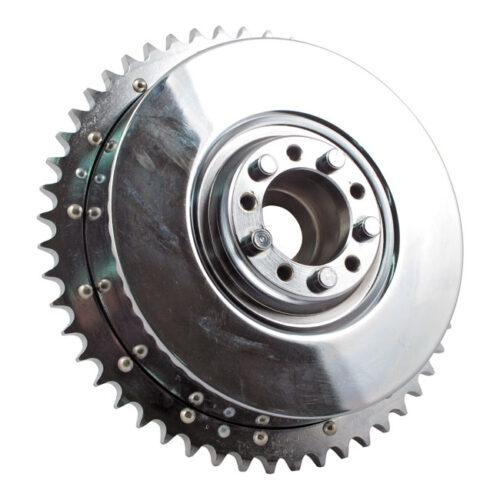 REAR BRAKE DRUM CHROME. Webshop voor onderdelen en parts voor Harley-Davidson