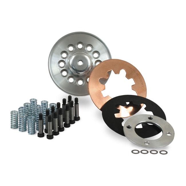 BDL ULTIMATE CLUTCH KIT PRESSURE PLATE KIT FOR ALL BDL ETC CLUTCHES  (2 DIAPHRAGM & REGULAR COIL SPRING SET-UP). Webshop voor onderdelen en parts voor Harley-Davidson