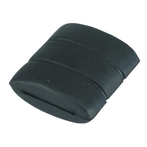 BRAKE PEDAL RUBBER PAD BLACK. Webshop voor onderdelen en parts voor Harley-Davidson