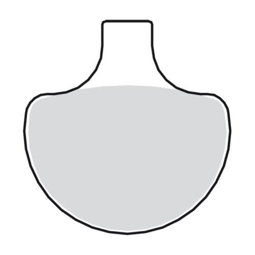 BRAKE PADS. FRONT ALLROUND ORGANIC. Webshop voor onderdelen en parts voor Harley-Davidson