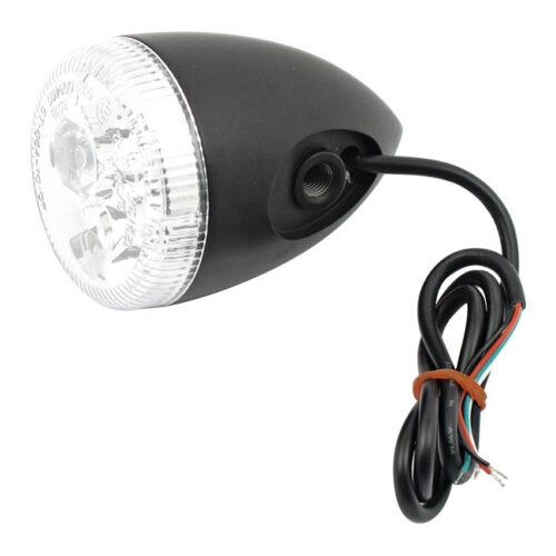3-1 LED BULLET TAILLIGHT / TURN SIGNAL WITHOUT STUD; BLACK; CLEAR LENS. Webshop voor onderdelen en parts voor Harley-Davidson