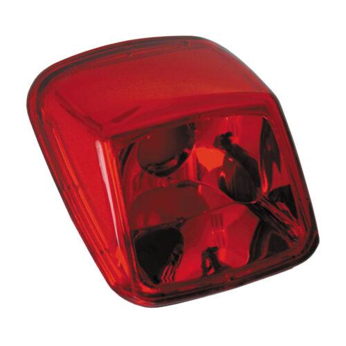 SMOOTH TAILLIGHT LENS RED . Webshop voor onderdelen en parts voor Harley-Davidson