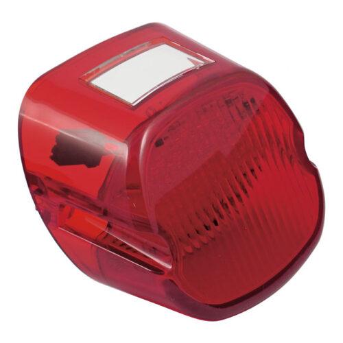 LAYDOWN TAILIGHT LENS WITH LED LIGHTS RED; PLUGS-IN STOCK SOCKET. Webshop voor onderdelen en parts voor Harley-Davidson