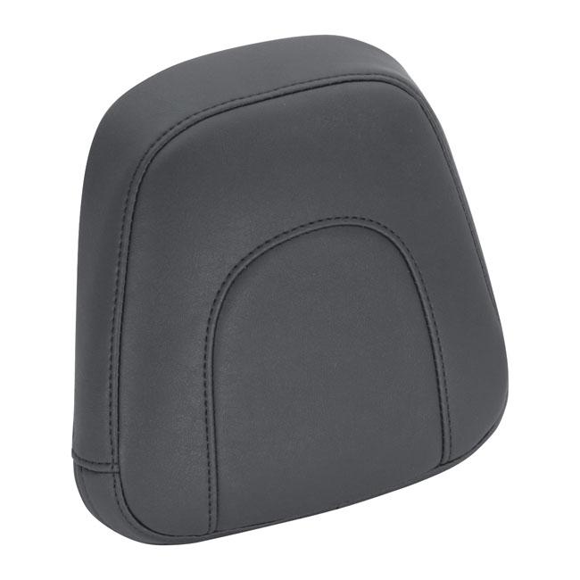 MUSTANG VINTAGE SISSY BAR PAD BLACK; 8 INCH WIDE X 9 INCH HIGH. Webshop voor onderdelen en parts voor Harley-Davidson