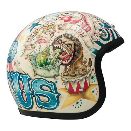 Dmd Vintage Helmet Circus