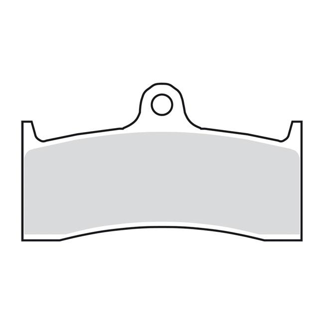BRAKE PAD STREET EXCEL SINTER FRONT. Webshop voor onderdelen en parts voor Harley-Davidson