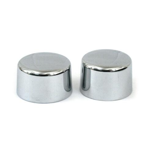 REAR AXLE NUT CAP KIT CHROME; 2 PIECE KIT. Webshop voor onderdelen en parts voor Harley-Davidson