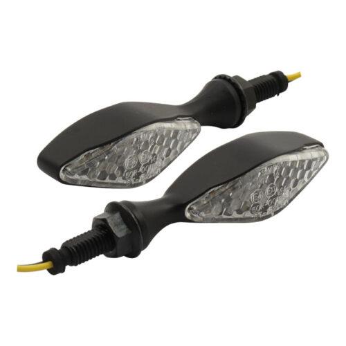 LED TURN SIGNALS FREESTYLE BLACK; E-MARKED. Webshop voor onderdelen en parts voor Harley-Davidson