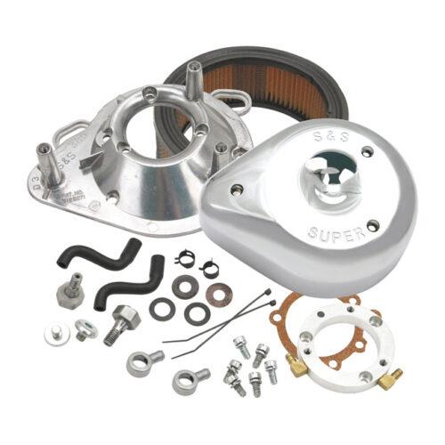 S&S AIRCLEANER ASSY CHROME; TEARDROP. Webshop voor onderdelen en parts voor Harley-Davidson