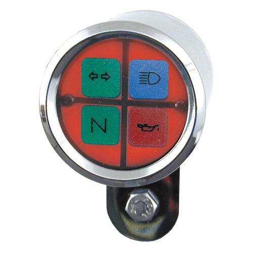 ULTRA MINI SQUARE INDICATOR LIGHT-RED
