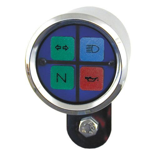 ULTRA MINI SQUARE INDICATOR LIGHT-BLUE
