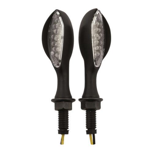 AMBUSH LED MINI TURN SIGNALS BLACK; AMBER LED. Webshop voor onderdelen en parts voor Harley-Davidson