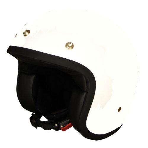 Dmd Vintage Helmet Solid White