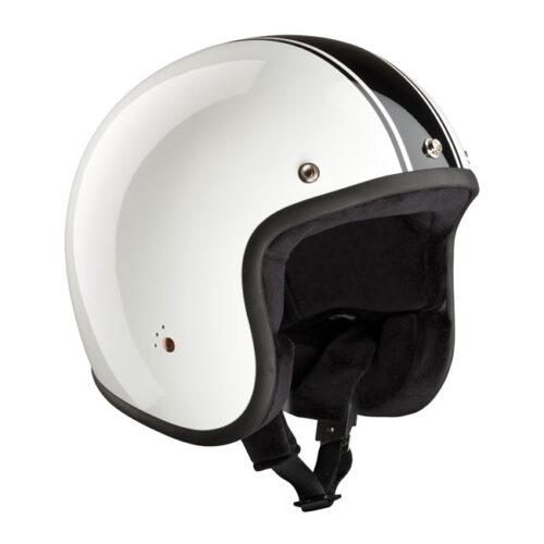 Bandit Jet Helmet Classic White/Black