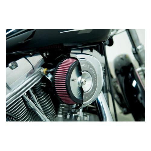 NESS LITTLE SUCKER AIR FILTER KIT RE-USE STOCK BREATHER & AIRCLEANER COVER. Webshop voor onderdelen en parts voor Harley-Davidson