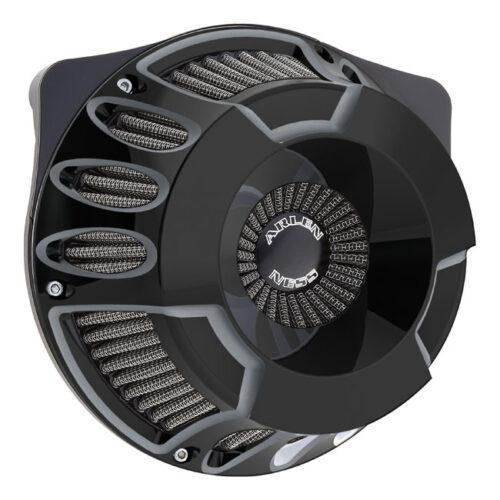 NESS DEEP CUT INVERTED AIR CLEANER KIT BLACK. Webshop voor onderdelen en parts voor Harley-Davidson
