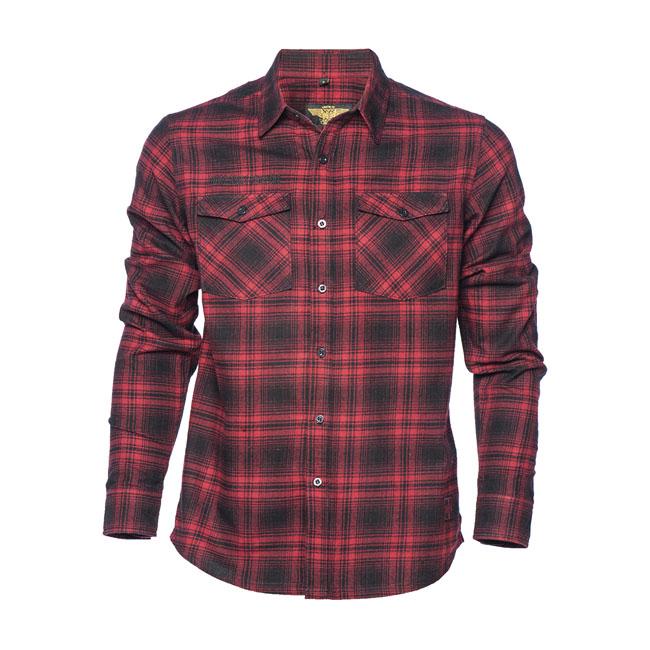 Wcc El Diablo Flannel Shirt Red