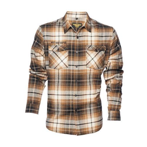 Wcc El Diablo Flannel Shirt Brown
