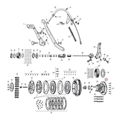 CLUTCH HUB . Webshop voor onderdelen en parts voor Harley-Davidson