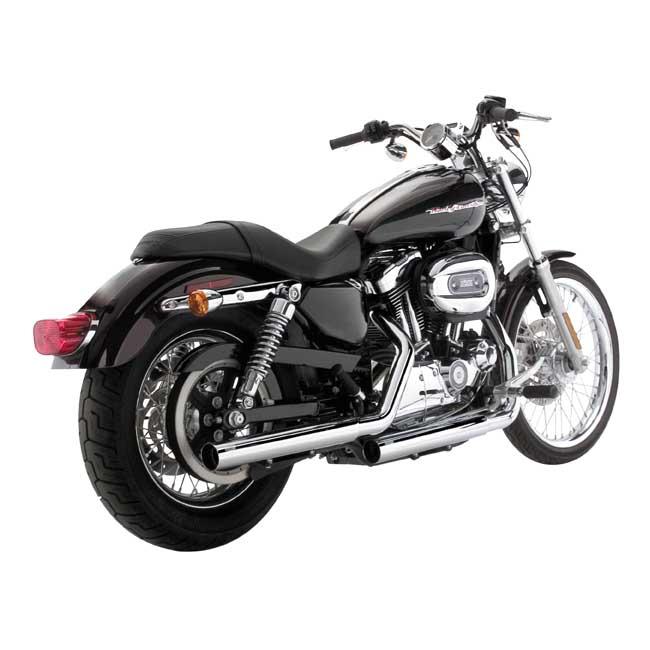 V&H STRAIGHTSHOTS SLIP-ONS . Webshop voor onderdelen en parts voor Harley-Davidson