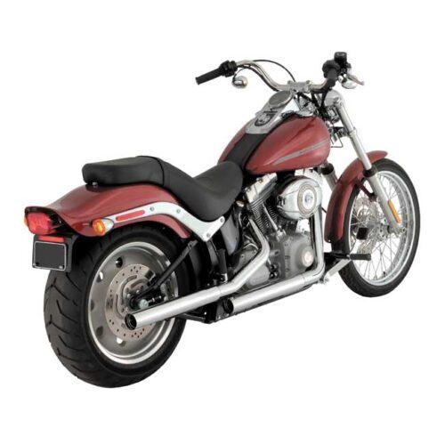 V&H STRAIGHTSHOTS SLIP-ONS Chrome; Will not fit thinner ending header pipes on 2017 HDI/EU models. Webshop voor onderdelen en parts voor Harley-Davidson