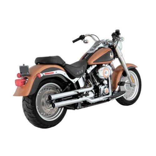 V&H STRAIGHTSHOTS SLIP-ONS With heat shields; Re-drill muffler bracket on 10-11 EU Fatboys; Will not fit thinner ending header pipes on 2017 HDI/EU models. Webshop voor onderdelen en parts voor Harley-Davidson