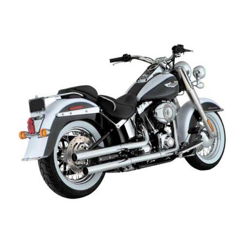 V&H STRAIGHTSHOTS SLIP-ONS With heat shields; Will not fit thinner ending header pipes on 2017 HDI/EU models. Webshop voor onderdelen en parts voor Harley-Davidson