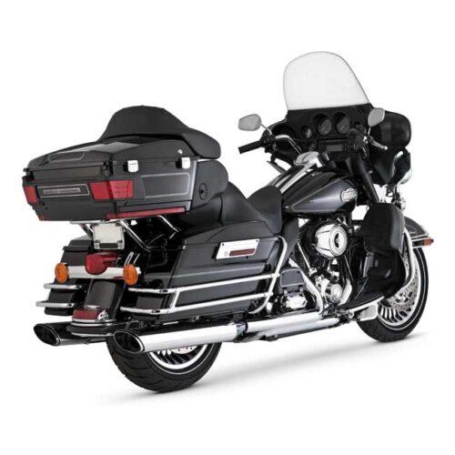 V&H TWIN SLASH MONSTER OVAL SLIP ONS -EC EC APPROVAL FOR 96 AND 103 CI ENGINES; CHROME. Webshop voor onderdelen en parts voor Harley-Davidson