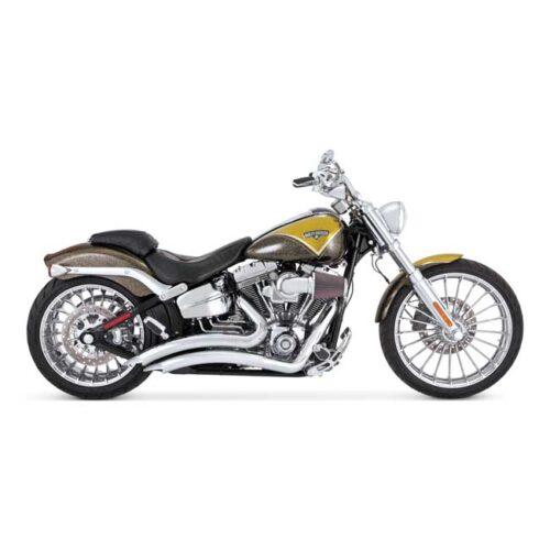V&H BIG RADIUS 2-2 CHROME . Webshop voor onderdelen en parts voor Harley-Davidson