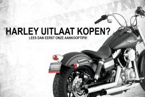 Hulp bij het kopen van een nieuwe Harley Uitlaat