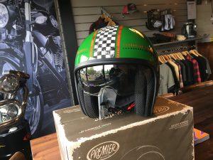 Premier helm Vintage - groen
