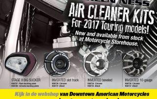 Harley Davidson 2017 Luchtfilter Aircleaner kits van Arlen Ness
