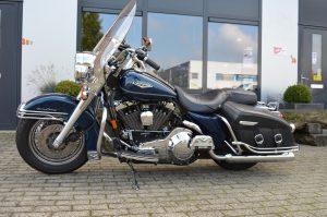 Te koop, Harley-Davidson Roadking Classic 1998 Blauw metallic
