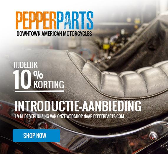 Onderdelen voor Harley Davidson Downtown Pepper Parts webshop webwinkel